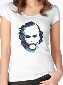 The Joker  Women's Fitted Scoop T-Shirt