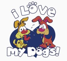 I LOVE MY DOGS! One Piece - Short Sleeve