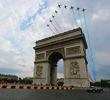 ARC DE TRIOMPHE by samandoliver