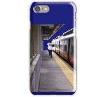 Late For A Train iPhone Case/Skin