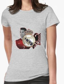 cristiano ronaldo handsome Womens Fitted T-Shirt