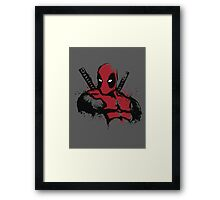The Merc in Red Framed Print