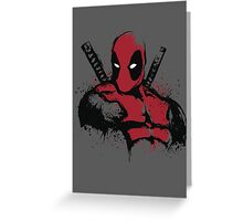 The Merc in Red Greeting Card