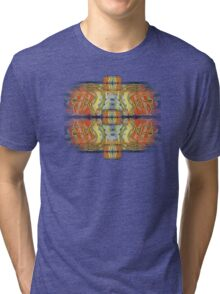 Ali  Name Abstract Calligraphy 3 Tri-blend T-Shirt