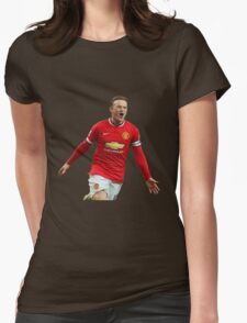 wayne rooney Womens Fitted T-Shirt