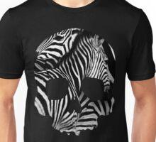 Skull Zebra Unisex T-Shirt