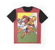 Retro rugby 1924 vector art Graphic T-Shirt