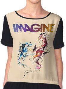 Imagine Dragons Chiffon Top