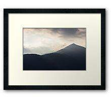 Rays of Sunshine Creeping Framed Print