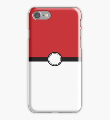 Poke Ball Color iPhone Case/Skin