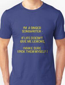 Singer Songwriter Unisex T-Shirt