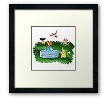 Poké-Summer Framed Print