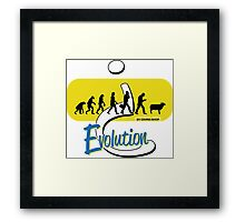 Evolution? Framed Print