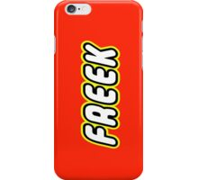 FREEK iPhone Case/Skin