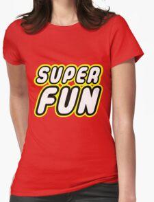 SUPER FUN Womens Fitted T-Shirt