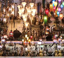 Istanbul - Grand Bazaar - Lights by rsangsterkelly