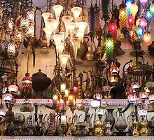 Istanbul - Grand Bazaar - Lights by rsangsterkelly