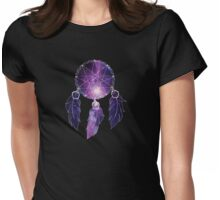 Catch all the dreams in your galaxy Womens Fitted T-Shirt