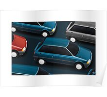 Poster artwork - Citroen AX Poster