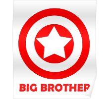 Superhero Big Brother Poster