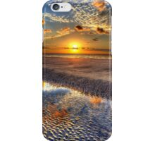 Low Tide Sunrise on Jekyll Island iPhone Case/Skin