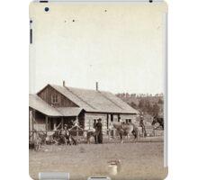 Western Ranch House - John Grabill - 1888 iPad Case/Skin