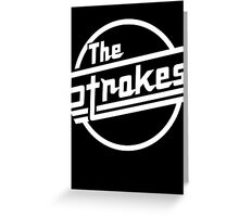 The Strokes Greeting Card