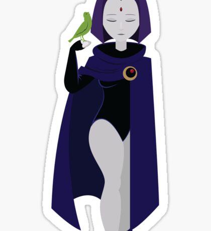 Raven and Beast Boy  Sticker