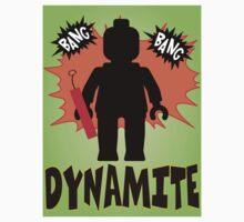 Dynamite Minifigure, Customize My Minifig Baby Tee
