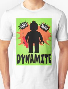Dynamite Minifigure, Customize My Minifig T-Shirt