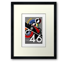 Poster artwork - Bugatti Type 46 Framed Print