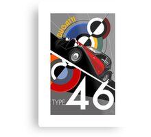 Poster artwork - Bugatti Type 46 Metal Print