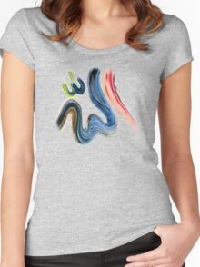 Allah Name tee design Women's Fitted Scoop T-Shirt