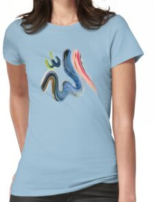 Allah Name tee design Womens Fitted T-Shirt