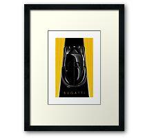 Poster artwork - Bugatti Type 57 Atlantic Framed Print