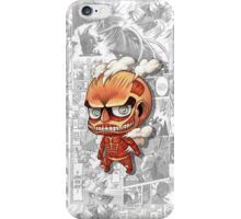 Attack On Titan - Colossal iPhone Case/Skin