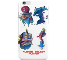 "Super Mario Bros 2 Collection ""Please Select Player"" iPhone Case/Skin"