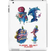 "Super Mario Bros 2 Collection ""Please Select Player"" iPad Case/Skin"