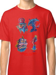 """Super Mario Bros 2 Collection """"Please Select Player"""" Classic T-Shirt"""