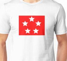 Marine Corps General - Rank Flag Unisex T-Shirt