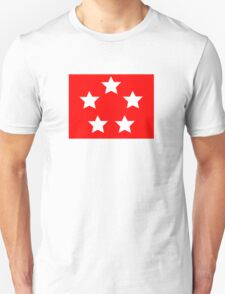 Marine Corps General - Rank Flag T-Shirt
