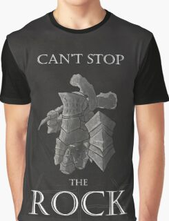 Can't stop the rock Graphic T-Shirt