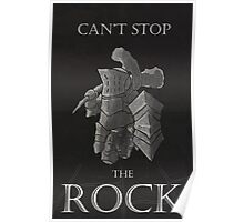 Can't stop the rock Poster