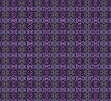 Purple Iris Abstract Pattern by taiche