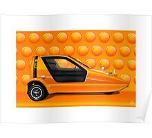 Poster artwork - Bond Bug  Poster
