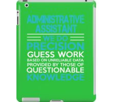 Administrative assistant iPad Case/Skin