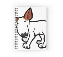 Ginger Ears Bull Terrier  Spiral Notebook
