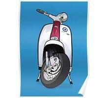 Mod Lambretta Poster