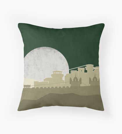 Game Of Thrones - Winterfell Throw Pillow