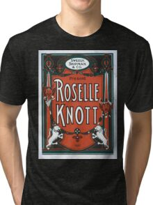 Performing Arts Posters Sweely Shipman Co present Roselle Knott 0408 Tri-blend T-Shirt